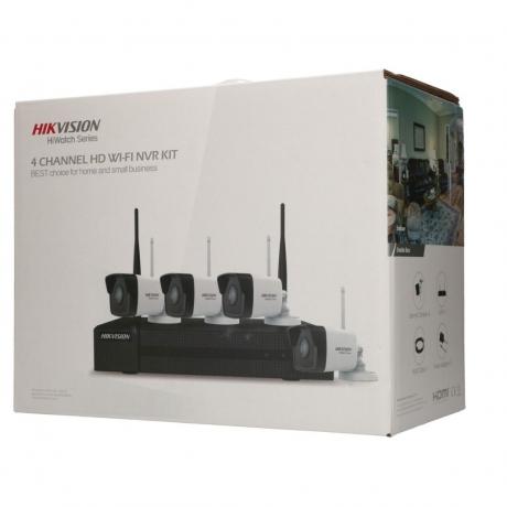 HIKVISION HIWATCH HWK-N4142B-MH/W 2.0 MP WIFI CAMERA KIT